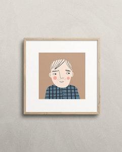 David print
