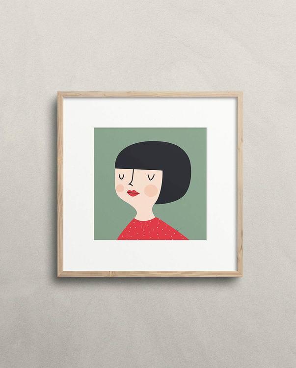 Kerstin print