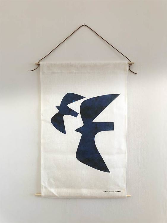 Martlet wall tapestry