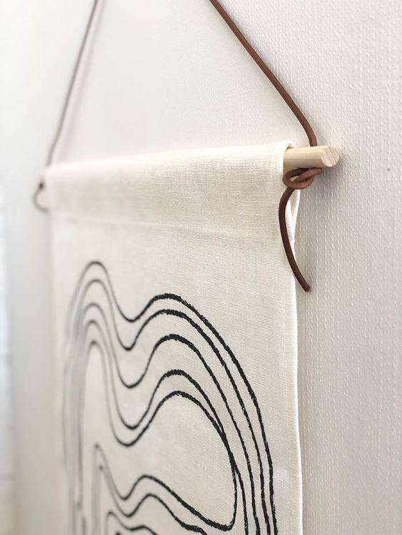 Loose ends wall tapestry
