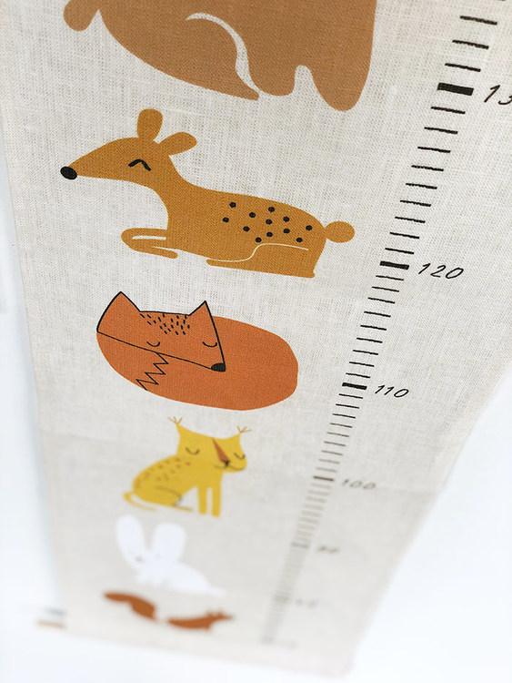 Skogens djur mätsticka