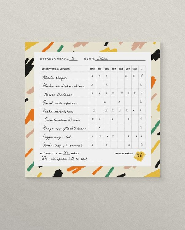 Assignment magnetic pad