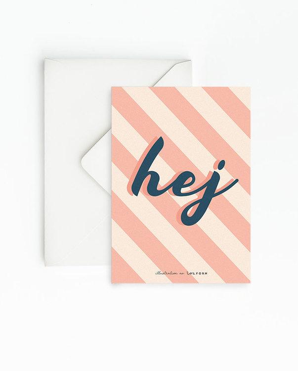 Hej 4-pack kort