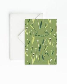 Grön 4-pack kort