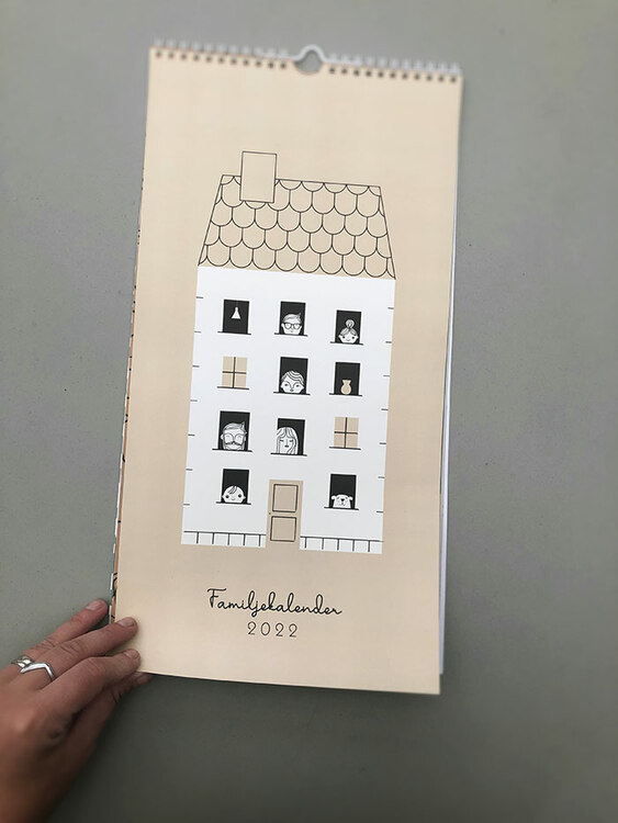 Family calendar 2022