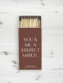 Perfect match Tändsticksask