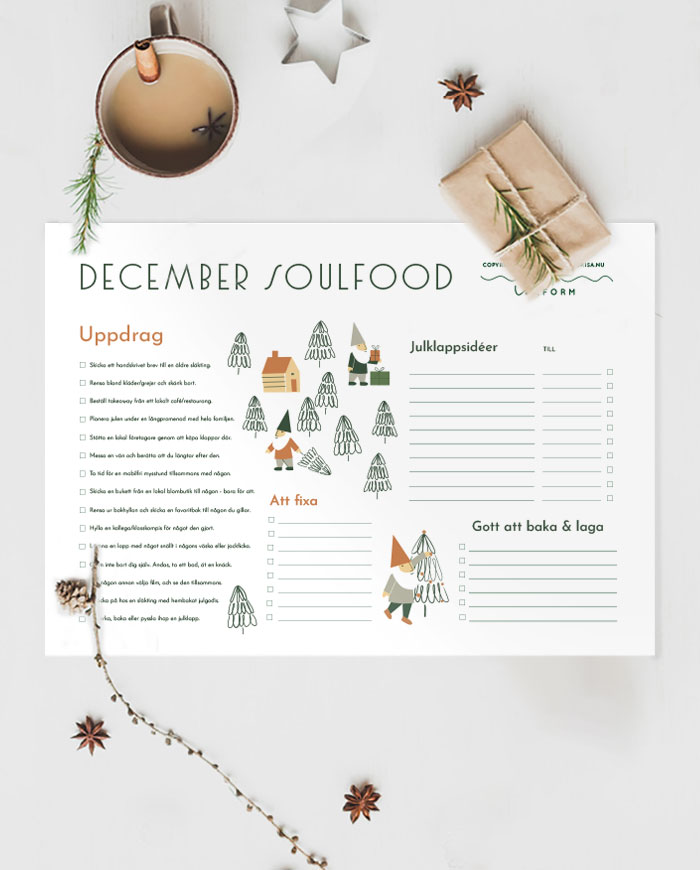 December Soulfood