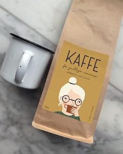 Kaffe för gulliga mammor