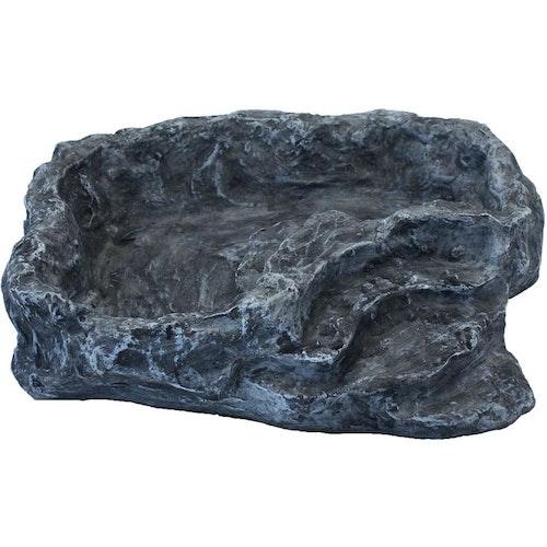 Vattenskål grå large