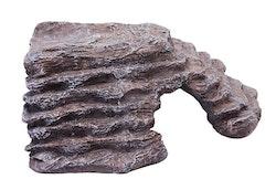 Hörngrotta brun large