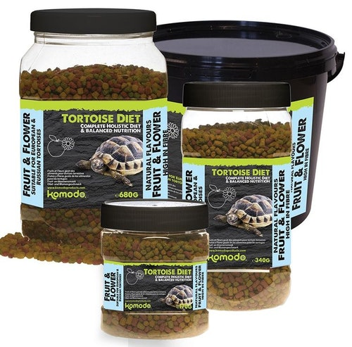 Tortoise diet fruit&flower 170 g