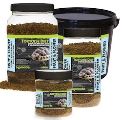 Tortoise diet fruit&flower 340 g