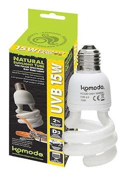 Compact lamp UVB 2 % ES 15W