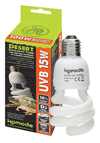 Compact lamp UVB  10 % ES 15 w