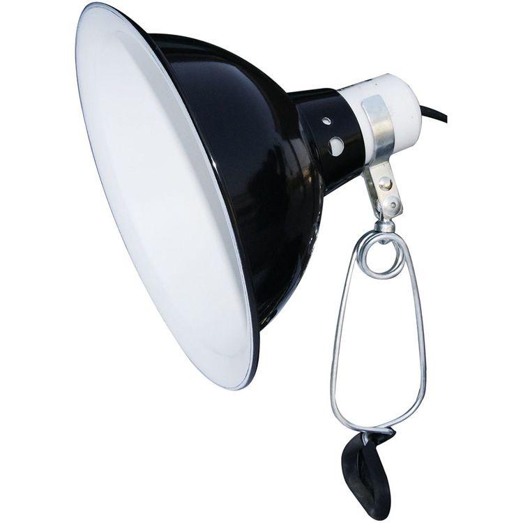 Dome clamp black , 21 cm
