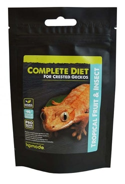 Crested Gecko Complete Diet - Tropical Fruit & Insect 60g