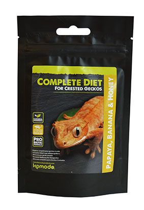 Crested Gecko Complete Diet - Papaya, Banana & Honey 60g