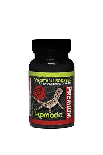 Premium Vegetable Booster for Juvenile Bearded Dragons 75 g
