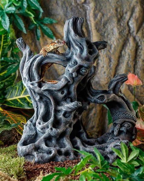 Exo Terra Tiki Totem Ornament,small