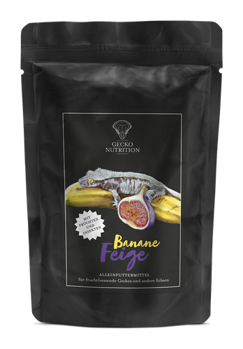 Gecko nutrition banan / fikon 50 g