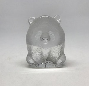 Mats Jonasson Målerås glasfigurin Panda