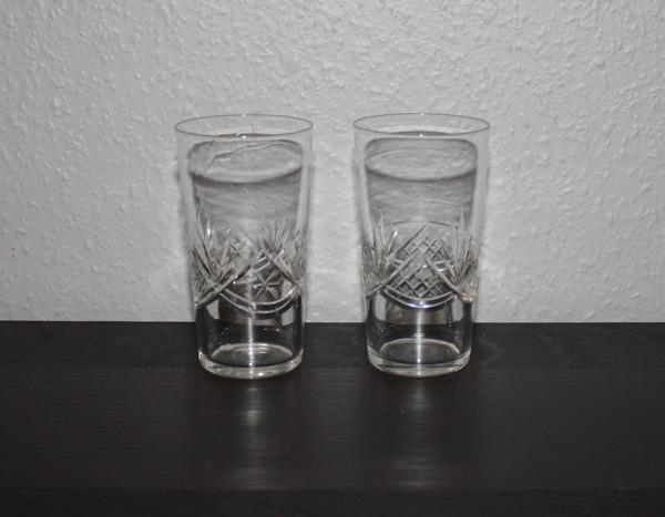 2st helgaslipade longdrinkglas
