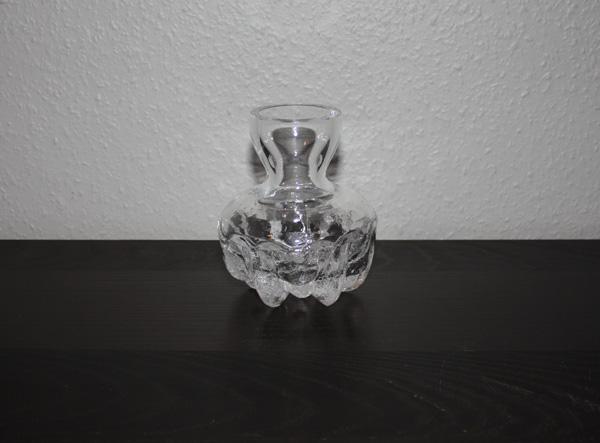 Kristallvas från Skruf glasbruk av Lars Hellsten
