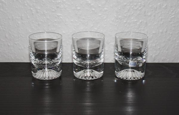 3st snapsglas Calypso - Kosta - Vicke Lindstrand