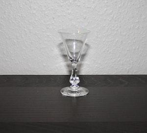 Snasglas med droppformad fot