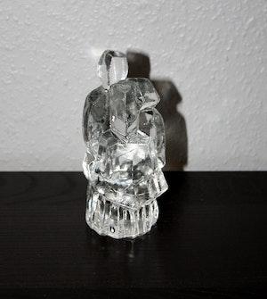 Glasfigurin från Pukeberg, design Uno Westerberg