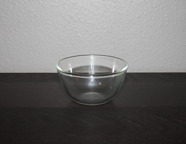 Glasskål i stil med Fuga