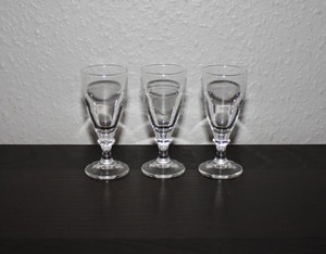3 st snapsglas från Italien
