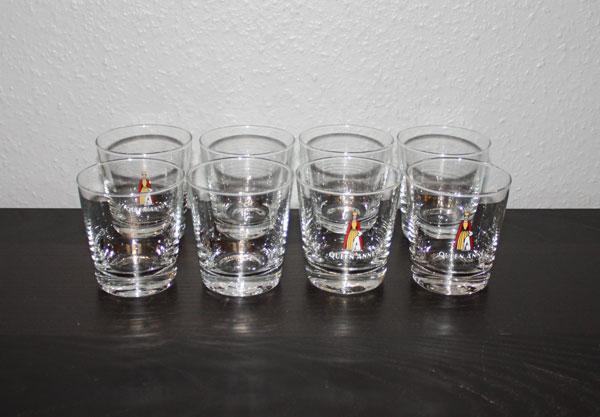 8st Whiskyglas från destillerier