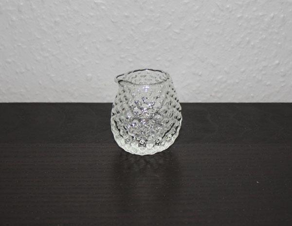 Gräddkanna i glas
