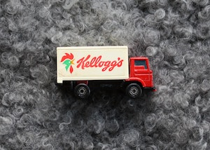Leksakslastbil Matchbox - Kellogs - Dodge