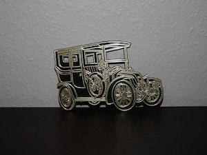Väggskylt i plast Renault 1906