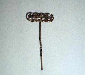 Pin Autounion med 4 ringar