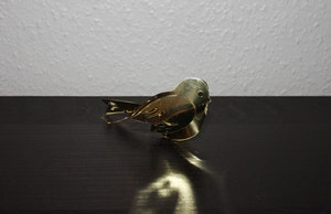 Mässingsfågel från Royal Copenhagen