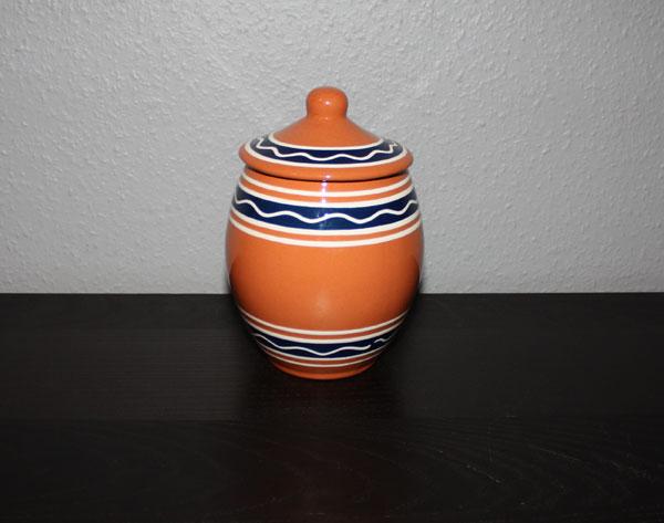 Urna med lock från Klippan Keramik