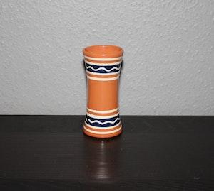 Vändbar ljusstake/vas från Klippan Keramik