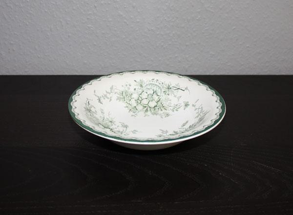 Djup Tallrik från Rörstrand modell Grön Anna