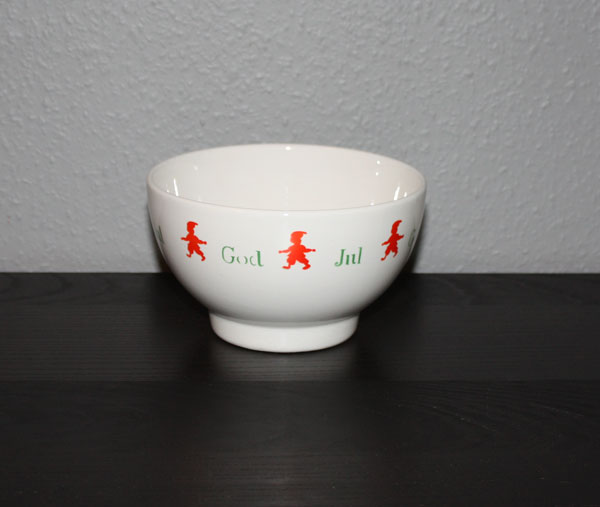 God Jul skål i keramik (18,5cm)