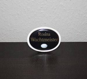 Varumärkesskylt Goebel - Rosina Wachtmeister