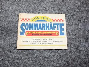 Postens Sommarhäfte från 1985