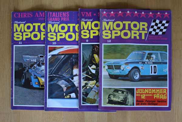 4st Illustrerad Motorsport 9-12/71