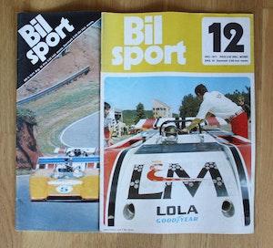 2 nr av Bilsport 1971