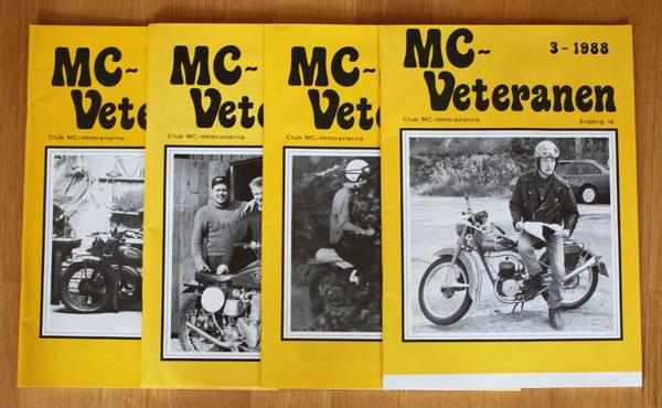 4st Mc veteranen årgång 1988 (komplett)