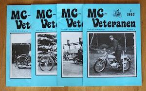 4st Mc veteranen årgång 1987 (komplett)