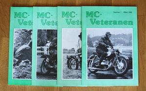 4st Mc veteranen årgång 1992 (komplett)