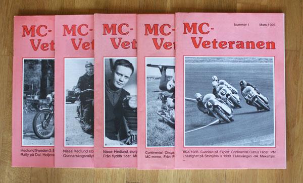 5st MC Veteranen 1995 kompletta årgång